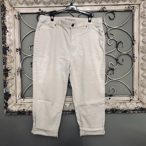 Chico's Platinum Crop Pants